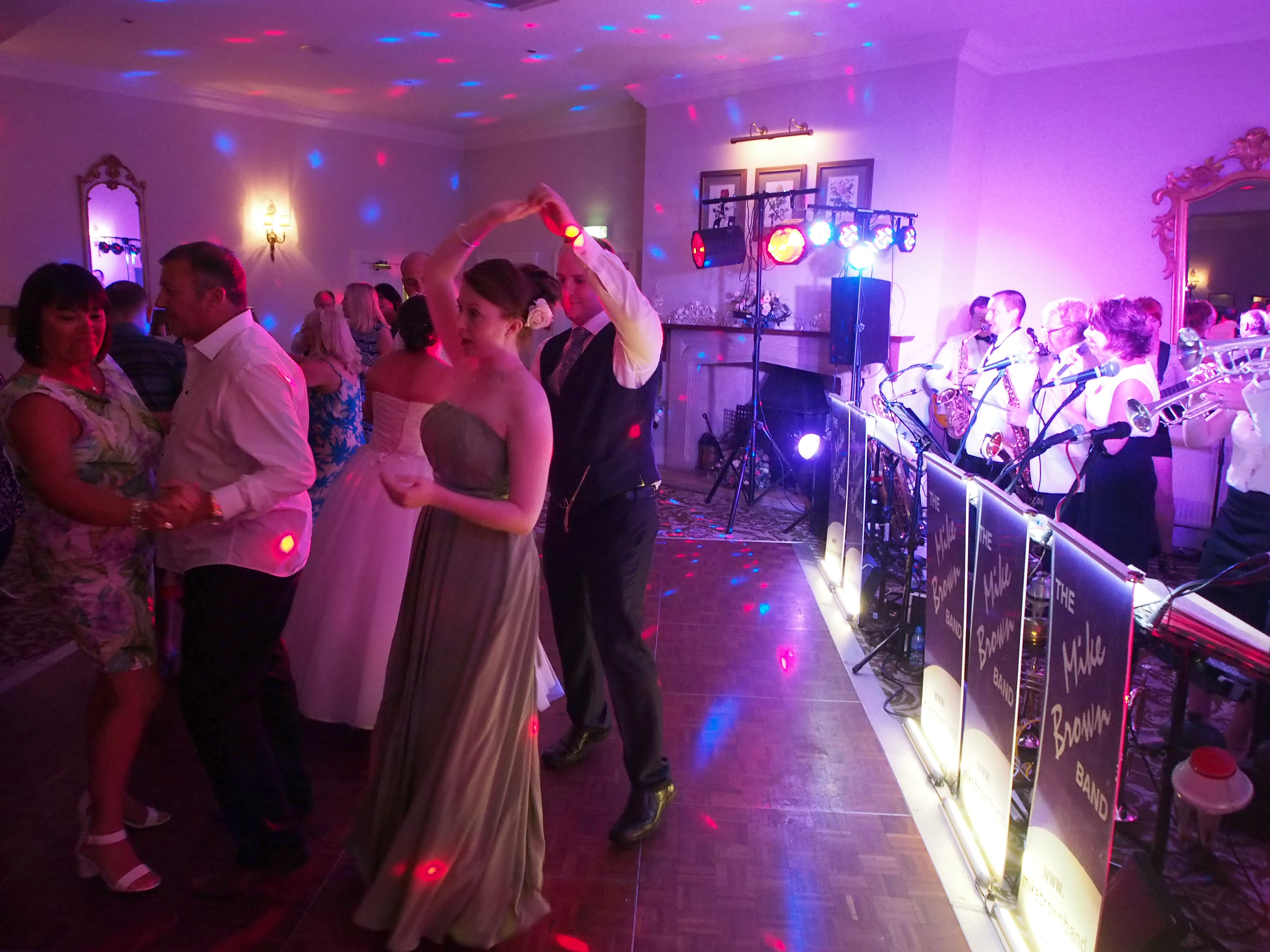 The Mike Brown Band at a wedding, Tickton Grange